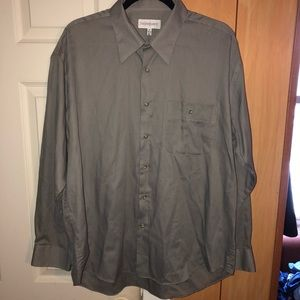 Yves Saint Laurent Men's Dress Shirt Size XL